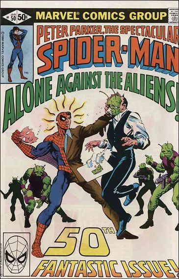 Spectacular Spider-Man (1976) 50-A by Marvel