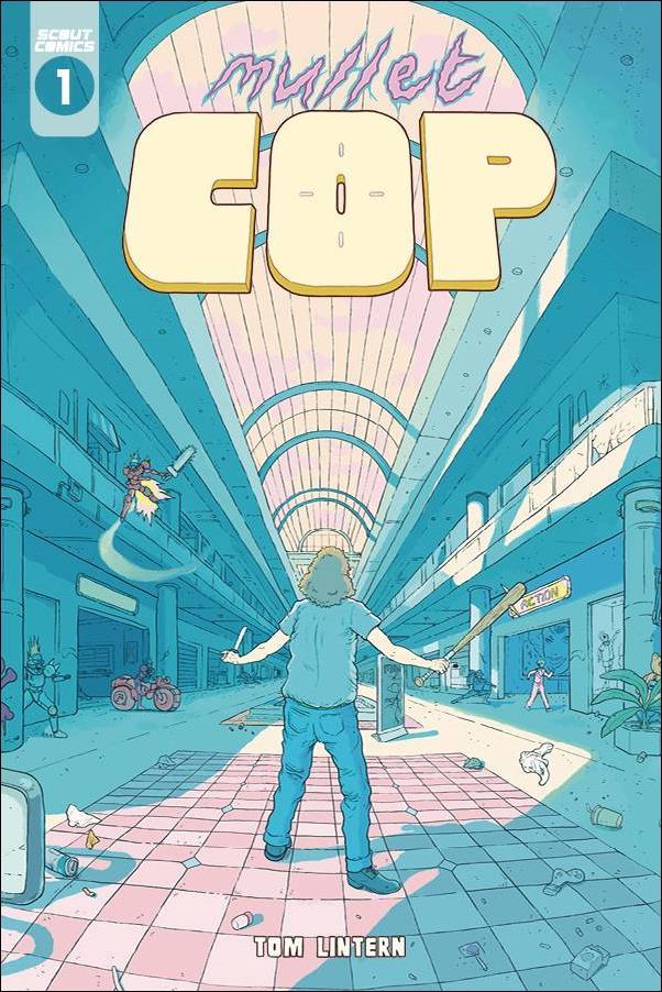 Mullet Cop 1-B by Scout Comics