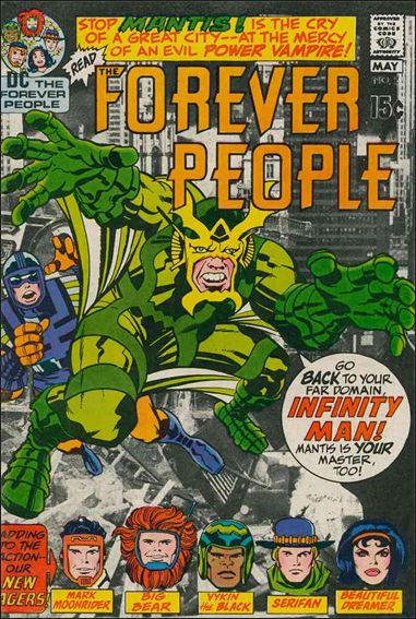 Forever People (1971) 2-A by DC