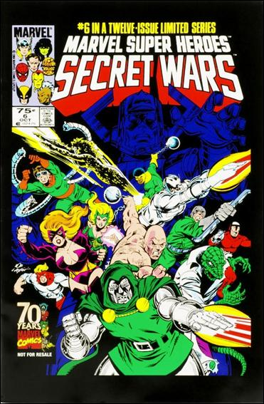 Marvel Super Heroes Secret Wars 6-C by Marvel