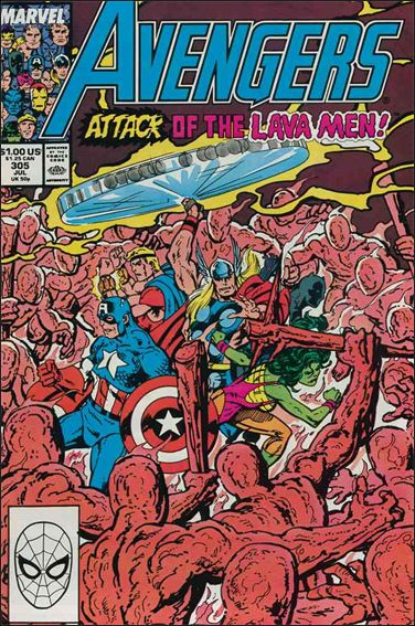 Avengers (1963) 305-A by Marvel