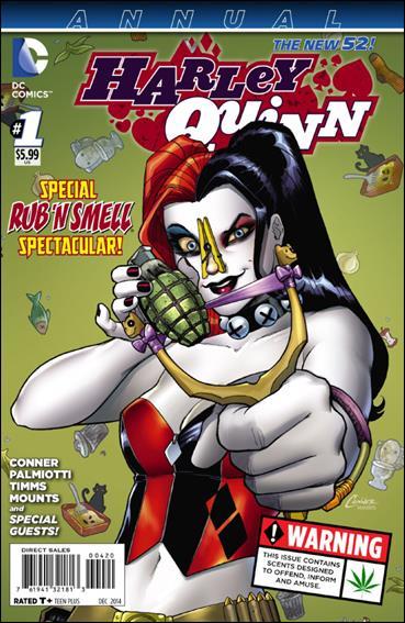 Harley Quinn Annual 1-A by DC