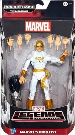 Marvel Legends Infinite: Avengers (Allfather Series)  Marvel's Iron Fist