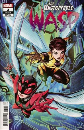 Unstoppable Wasp (2018) 2-B