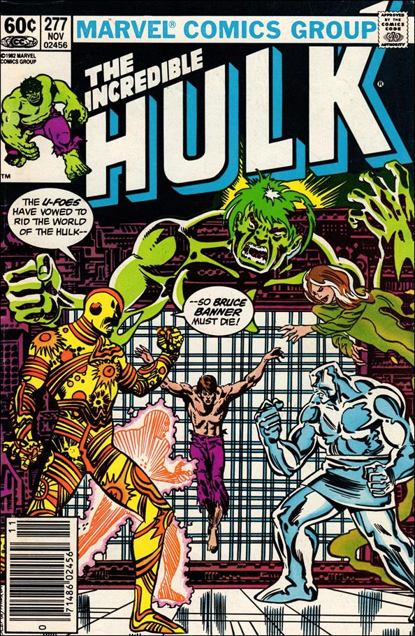 Incredible Hulk (1968) 277-A by Marvel