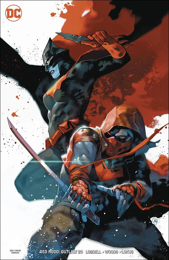 Red Hood: Outlaw 29-B by DC