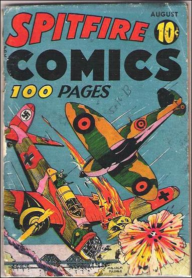 Spitfire Comics (1941) 1-A by Harvey