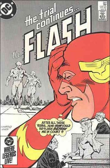 Flash (1959) 344-A by DC