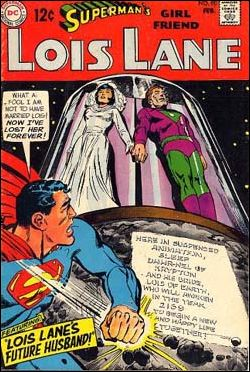 Superman's Girl Friend Lois Lane 90-A by DC