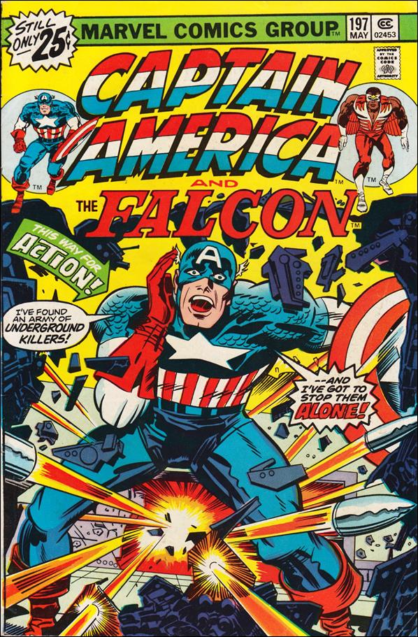 Captain America (1968) 197-A by Marvel
