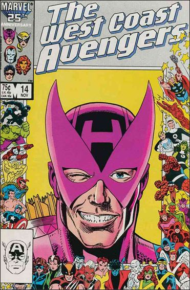 West Coast Avengers (1985) 14-A by Marvel