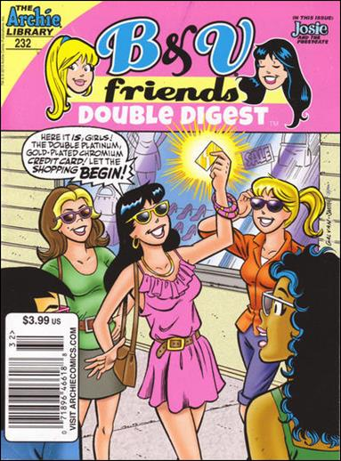 B&V Friends Double Digest Magazine 232-A by Archie
