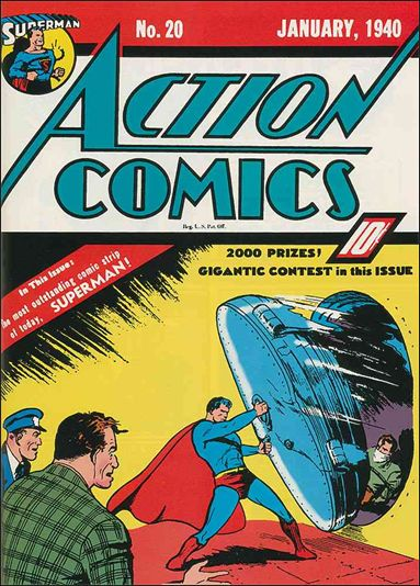 Action Comics (1938) 20-A by DC