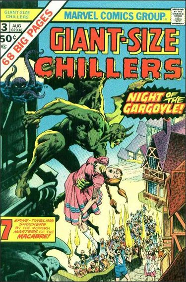 Giant-Size Chillers 3-A by Marvel