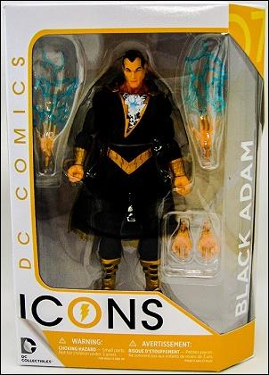 DC Icons Black Adam by DC Collectibles