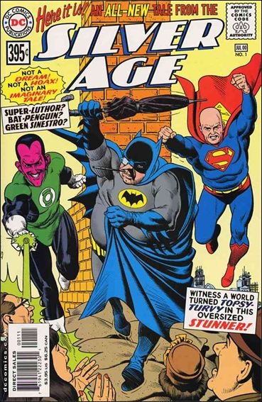 Silver Age 1-A by DC
