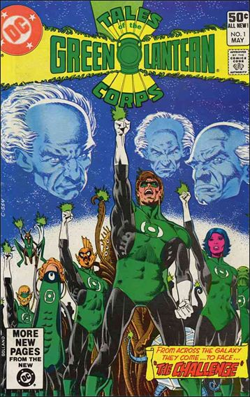 Tales of the Green Lantern Corps 1-A by DC