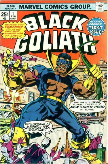 Black Goliath 1-A by Marvel