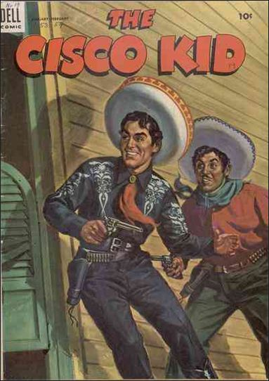 Cisco Kid (1951) 19-A by Dell