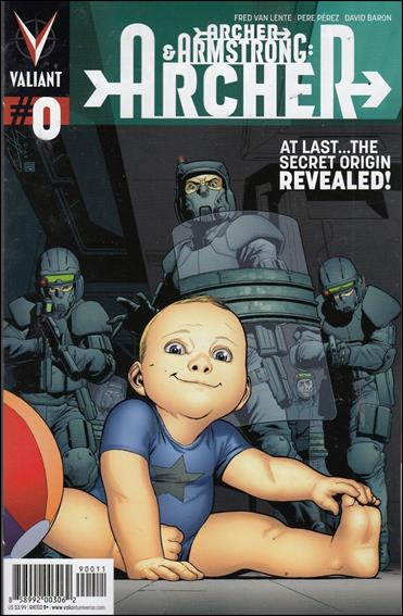 Archer and Armstrong: Archer 0-A by Valiant Entertainment