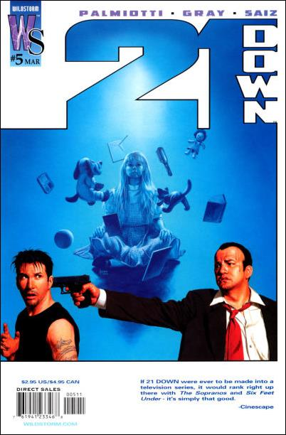 21 Down 5-A by WildStorm