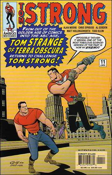 Tom Strong 11-A by America's Best Comics