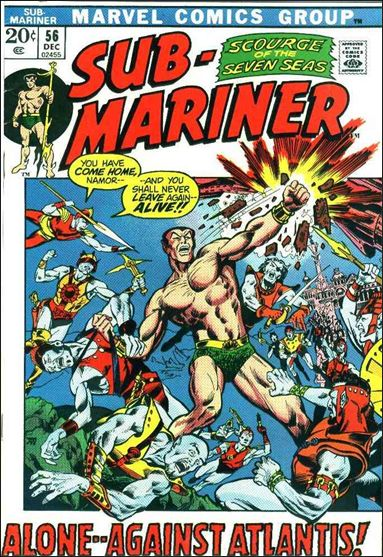 Sub-Mariner (1968) 56-A by Marvel