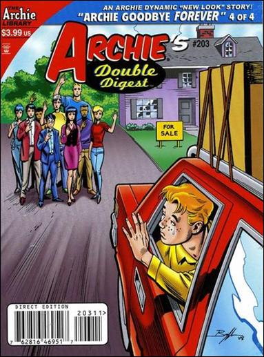 Archie's Double Digest Magazine 203-A by Archie