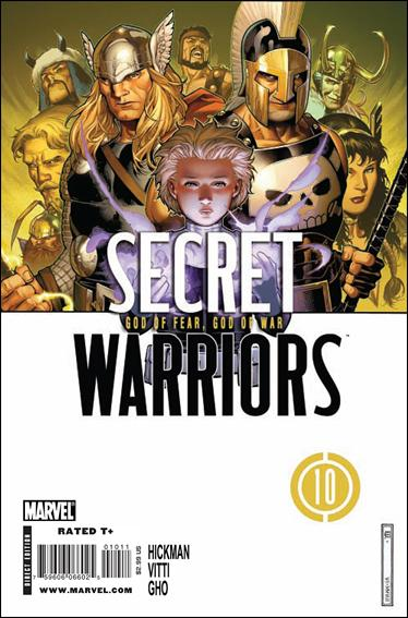 Secret Warriors (2009) 10-A by Marvel