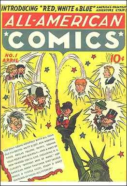 All-American Comics (1939) 1-A by DC