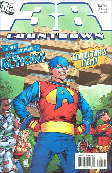 Countdown (2007) 38-A by DC