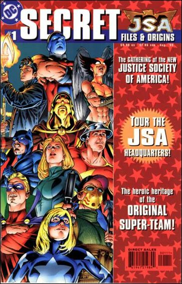 JSA: Secret Files and Origins 1-A by DC