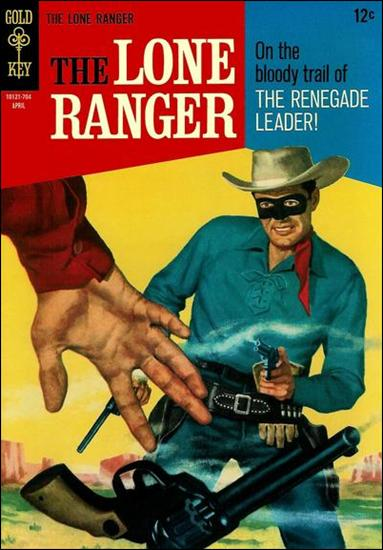 Lone Ranger (1964) 6-A by Gold Key