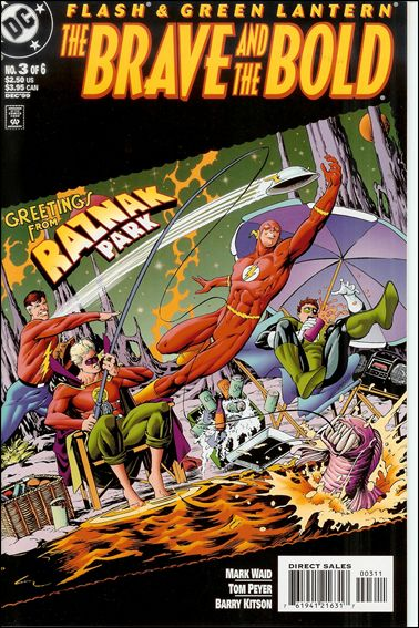 Flash/Green Lantern: The Brave and the Bold 3-A by DC