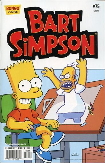 Simpsons Comics Presents Bart Simpson 75-A by Bongo