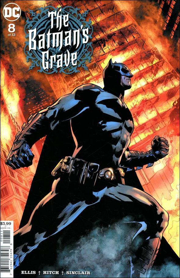 Batman's Grave 8-A by DC