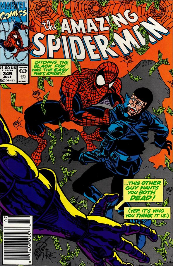 Amazing Spider-Man (1963) 349-A by Marvel