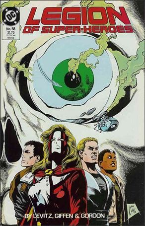 Legion of Super-Heroes (1984) 58-A