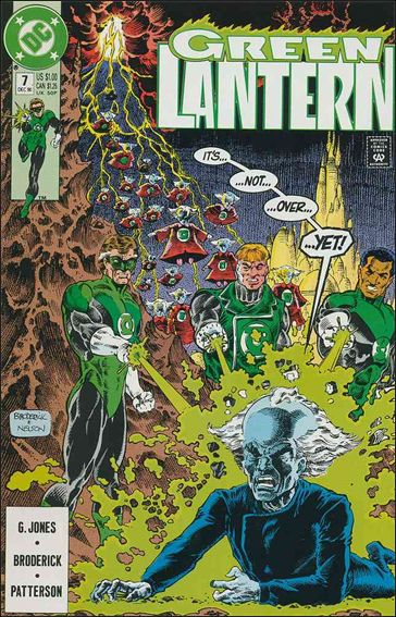 Green Lantern (1990) 7-A by DC