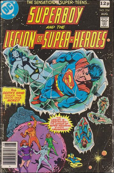 Superboy and the Legion of Super-Heroes 254-C by DC