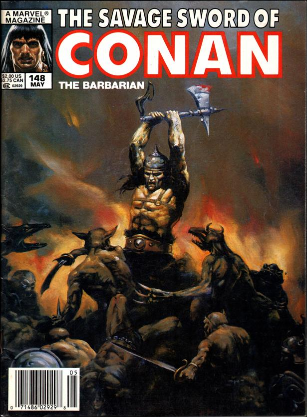 Savage Sword of Conan (1974) 148-A by Marvel