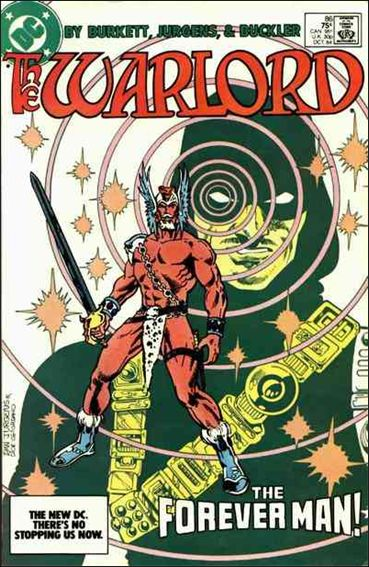 Warlord (1976) 86-A by DC