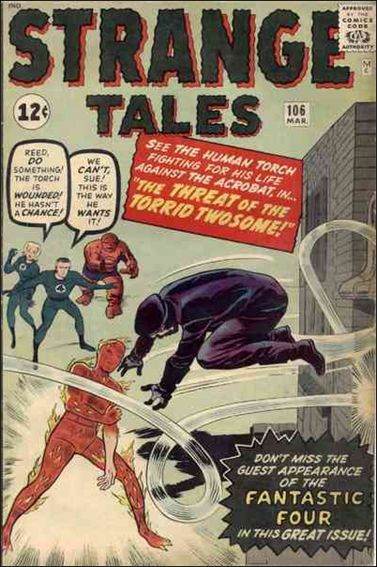 Strange Tales (1951) 106-A by Marvel