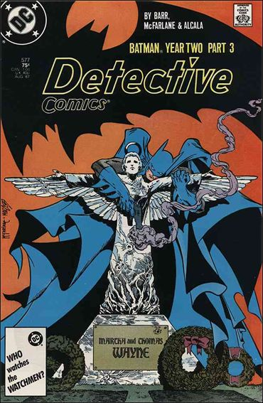 Detective Comics (1937) 577-A by DC