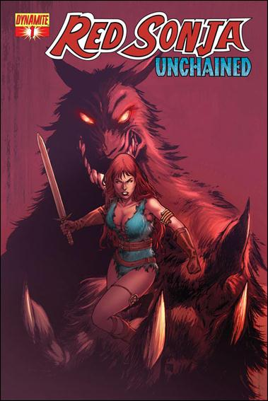 Red Sonja: Unchained 1-B by Dynamite Entertainment