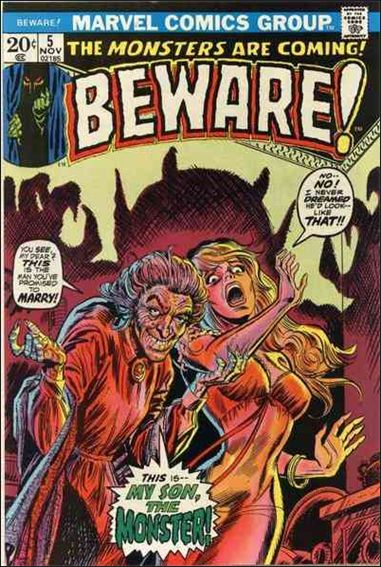 Beware (1973) 5-A by Marvel