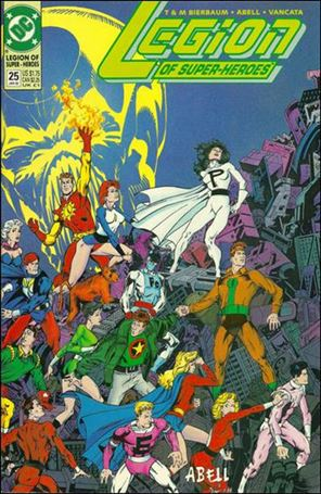 Legion of Super-Heroes (1989) 25-A
