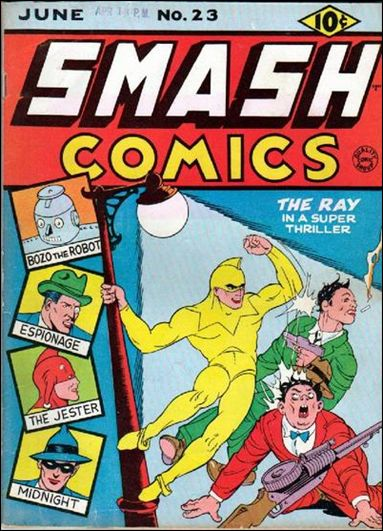 Smash Comics (1939) 23-A by Quality