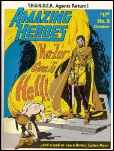 Amazing Heroes 5-A by Fantagraphics