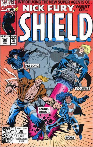 Nick Fury, Agent of S.H.I.E.L.D. (1989) 33-A by Marvel